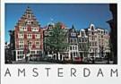 Igno Cuypers  -  Oudezijds Voorburgwal, Amsterdam. Beginning of the - Postkaart -  AU1014-1