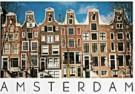 Tim Killiam (1947-2014)  -  6 Gables on the Leidsegracht, Amsterdam - Postkaart -  AU1017-1