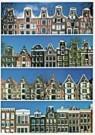 Tim Killiam (1947-2014)  -  Dutch gables : 4 Rows of Canal Houses, Amsterdam - Postkaart -  AU1027-1