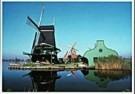 Igno Cuypers  -  Five Windmills in Zaanse Schans, Holland - Postkaart -  AU1039-1