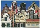 Tim Killiam (1947-2014)  -  9 Types of Amsterdam Canal Houses - Postkaart -  AU1055-1