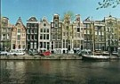 Tim Killiam (1947-2014)  -  Canal Houses on the Herengracht, Amsterdam - Postkaart -  AU1059-1