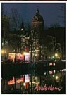 Igno Cuypers  -  Night Colors in Amsterdam's redlight district - Postkaart -  AU1061-1