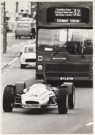 Mike Hollist  -  Racingcar in the City - Postkaart -  B0618-1