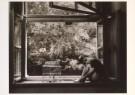 Jan Saudek (1935)  -  (child in window)  (kl) - Postkaart -  B0759-1