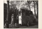 Sem Presser (1917-1986)  -  Draaiorgel op gracht, Amsterdam, 1948 - Postkaart -  B1149-1