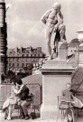 Fred Brommet (1924-2008)  -  Jardin du Luxembourg, Paris 1956 - Postkaart -  B1799-1