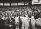 Vincent Mentzel (1945) - Rotterdam de Kuip, Feyenoord-Ajax - Postkaart - B2394-1