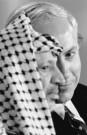 Stephen Jaffe  -  Netanyahu and Arafat - Postkaart -  B2527-1