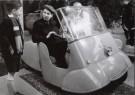 Henk  Blansjaar (1910-1981)  -  Driewielige tweepersoonsscooter, 1953 - Postkaart -  B2800-1
