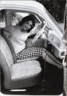 Anoniem,  -  De vrouw en haar auto - Postkaart -  B2801-1