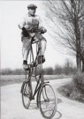 Henk  Blansjaar (1910-1981)  -  Etagefiets, 1951 - Postkaart -  B2804-1