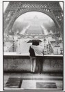 Marc atze Jacquemin  -  Two people with umbrella looking at the Eifeltower - Postkaart -  B2827-1