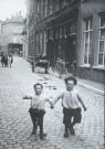 A. Bijnen (1870-1938)  -  De Krompoten in de Vissersstraat,  Breda, ca. 1910 - Postkaart -  B2855-1