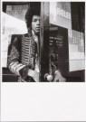 Nico van der Stam (1925-2000)  -  Jimi Hendrix (1966) - Postkaart -  B2906-1
