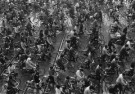 Fu Chun Wang  -  Rush Hour in Shanghai, China, 1988 - Postkaart -  B2944-1