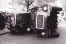 Ben van Eck  -  Gevallen brandweerau - Postkaart -  B3038-1