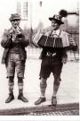 Spaarnestad Fotoarchief,  -  Beierse straatmuzikanten - Postkaart -  B3218-1
