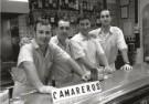 Ben van Eck  -  Camareros, 2007, Fuengirola, Spanje - Postkaart -  B3451-1