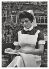 Emile v. Moerkerken(1916-1995) -  Leerling-verpleegster. 21j., ca. 1959 - Postkaart -  B3467-1