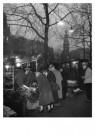 Emile v. Moerkerken(1916-1995) -  Bloemenmarkt, Amsterdam, 1956 / Bloemenmarkt - Postkaart -  B3766-1