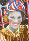 Paul Koeleman (1955)  -  Koeleman/ The lady of April 30 - Postkaart -  C0490-1