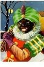 -  Zwarte Piet - Postkaart -  C10476-1