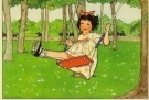 Rie Cramer (1887-1977)  -  Uit:'Spelletjes' - Postkaart -  C10580-1