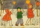 Rie Cramer (1887-1977)  -  Uit:'Spelletjes' - Postkaart -  C10582-1