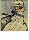 Rie Cramer (1887-1977)  -  Reclame voor Blue Band - Postkaart -  C10593-1