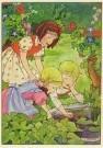 Rie Cramer (1887-1977)  -  Uit:'Katrientje woont buiten' - Postkaart -  C10598-1