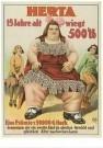 Circusarchief Jaap Best  -  Herta - Postkaart -  C10705-1