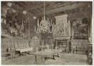 Pierre J.H. Cuypers (1827-1921 -  Kasteel de Haar, eetzaal - Postkaart -  C11086-1