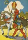 -  L Groen/Sinterklaas - Postkaart -  C11137-1