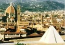 Dani Karavan (1930)  -  Two Environments for Peace, Florence, Italy - Postkaart -  C11246-1