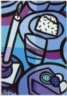 Jacqueline Schafer  -  Kom eten & drinken No 1 - Postkaart -  C11275-1