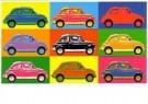 Paul Fennis  -  Fiat 500 - Postkaart -  C11283-1