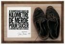 John Giorno (1936)  -  J. Giorno / schoenen of geen schoenen - Postkaart -  C11361-1