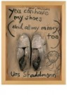 Urs Stadelmann (1964)  -  U.Stadelman/Shoes or no shoes - Postkaart -  C11374-1