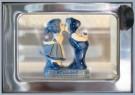 Rolf Unger  -  The Boertje & Boerinnetje (Delft-blue) automatiek - Postkaart -  C11505-1