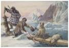 Cornelis Jetses (1873-1955)  -  Schoolplaat in ruime kring - Postkaart -  C11596-1