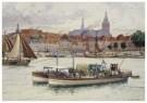 Cornelis Jetses (1873-1955)  -  Schoolplaat in ruime kring - Postkaart -  C11598-1