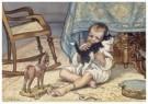 Cornelis Jetses (1873-1955)  -  Uit: Ot en Sien, Voor scholen in Indie - Postkaart -  C11609-1
