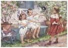 Cornelis Jetses (1873-1955)  -  Uit: Ot en Sien, Voor scholen in Indie - Postkaart -  C11611-1