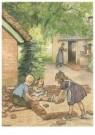 Cornelis Jetses (1873-1955)  -  Buurtkinderen - Postkaart -  C11612-1