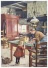 Cornelis Jetses (1873-1955)  -  Uit: De wereld in - Postkaart -  C11617-1