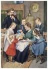 Cornelis Jetses (1873-1955)  -  Uit: De wereld in - Postkaart -  C11618-1