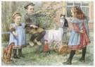 Cornelis Jetses (1873-1955)  -  Uit: Nog bij moeder - Postkaart -  C11623-1