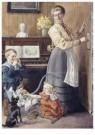 Cornelis Jetses (1873-1955)  -  Uit: Pim en Mien - Postkaart -  C11624-1