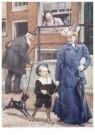Cornelis Jetses (1873-1955)  -  Uit: Pim en Mien - Postkaart -  C11626-1